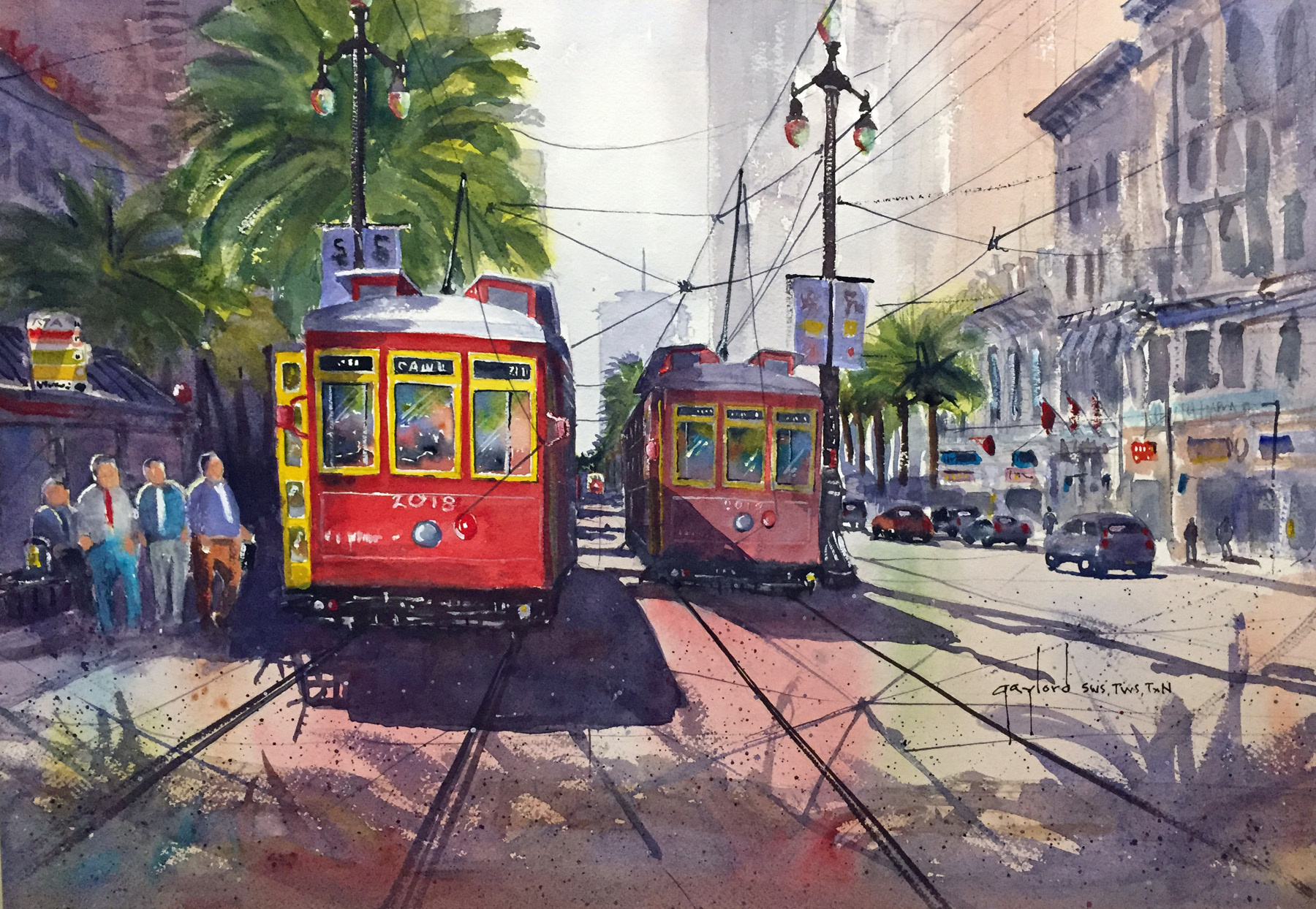Street Cars / New Orleans